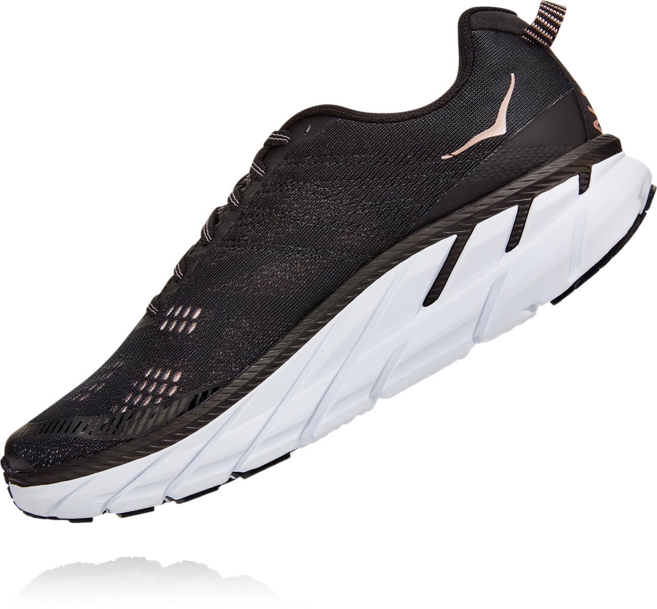 Hoka One One Clifton 6 Shoes Women blackrose gold